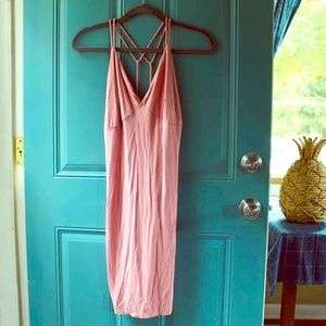 Sexy Pink Bodycon Charlotte Russe Dress